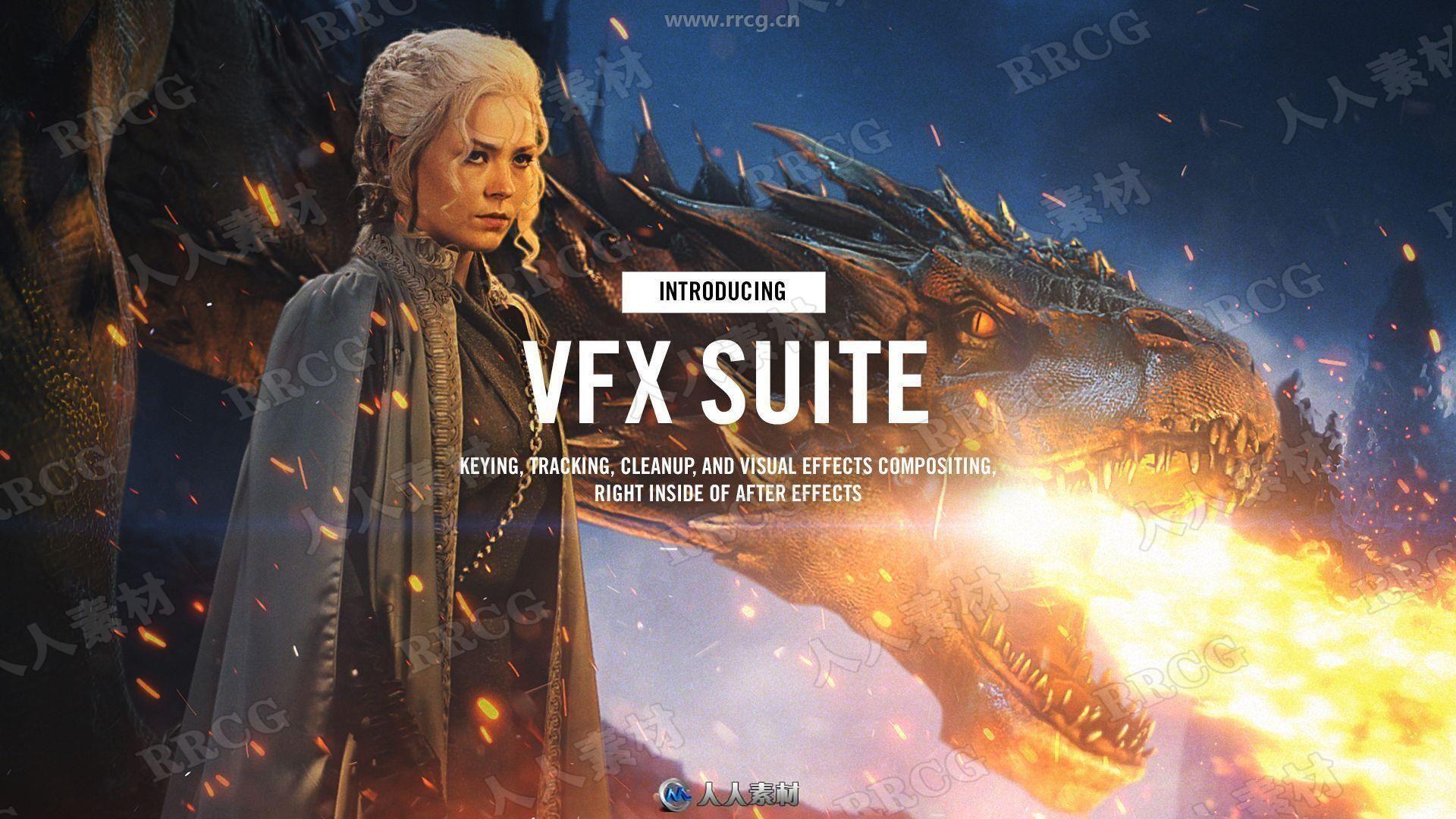 Red Giant VFX Suite视觉特效工具包AE插件V1.5.1 Win与Mac版
