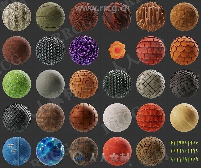 30组高品质Substance材质合集第六季 sbs与sbsar文件格式