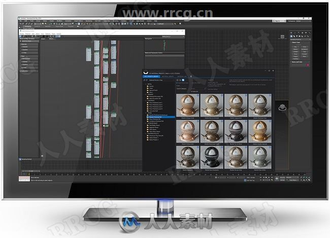 SIGERSHADERS XS Material Presets Studio VRay材质预设合集