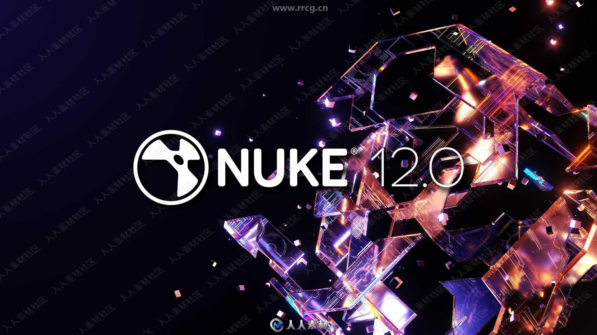 Nuke Studio影视后期特效合成软件12.1v4版