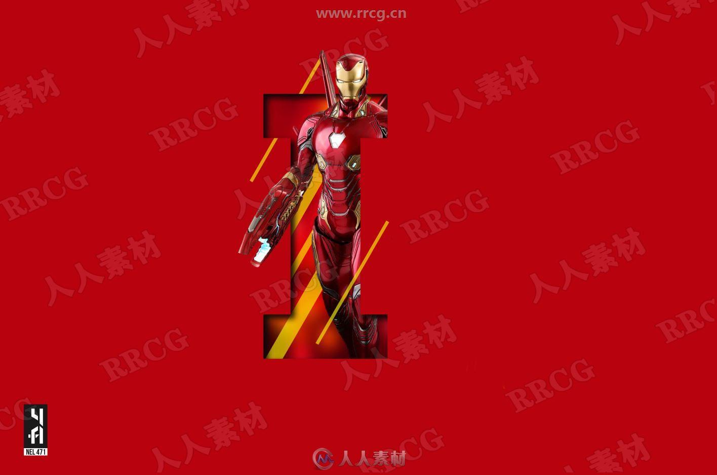 《钢铁侠》科幻概念角色场景海报美术设定原画插画集