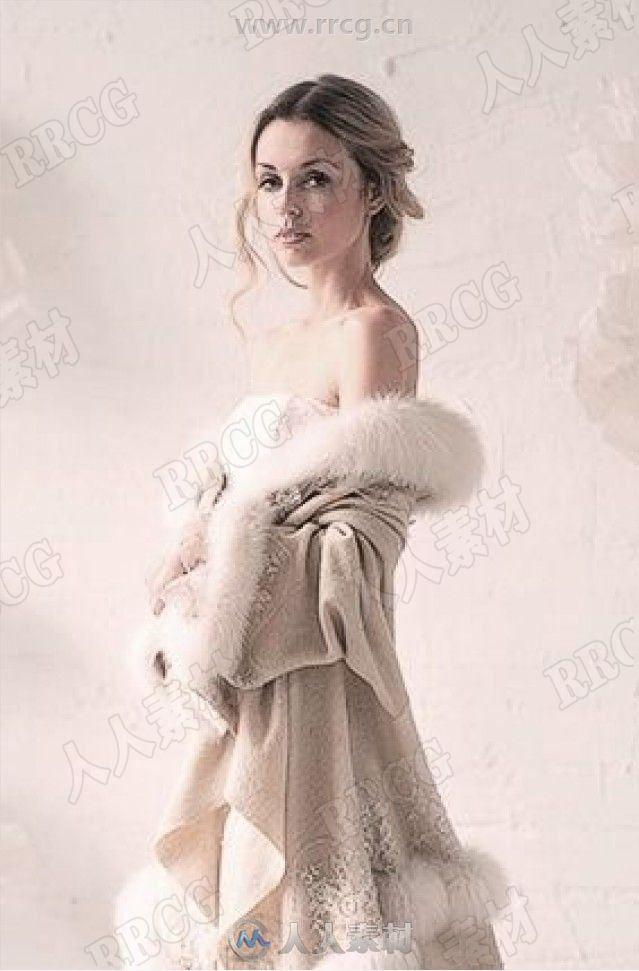 衣服皱褶布料素材参考图原画插画集