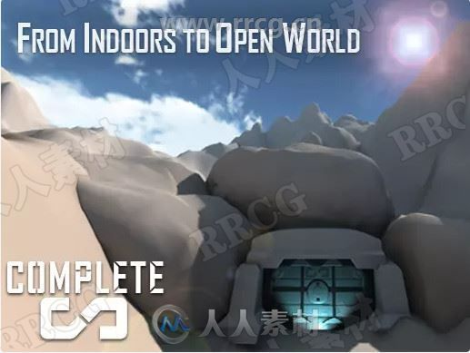 结构化空间室内地形工具Unity游戏素材资源