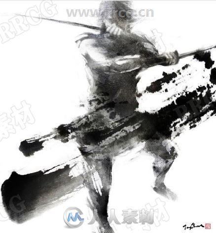 中国风仙侠系列人物立绘PNG角色原画插画集