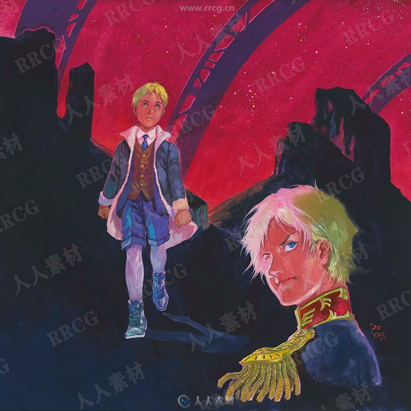 机动战士高达40周年纪念动画配乐原声大碟OST音乐素材合集