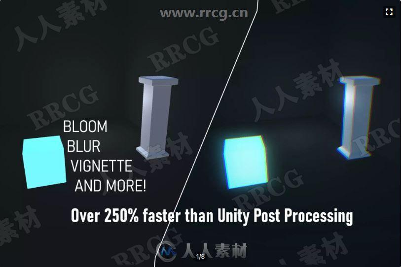 视觉特效全屏快速优化后处理Unity游戏素材资源