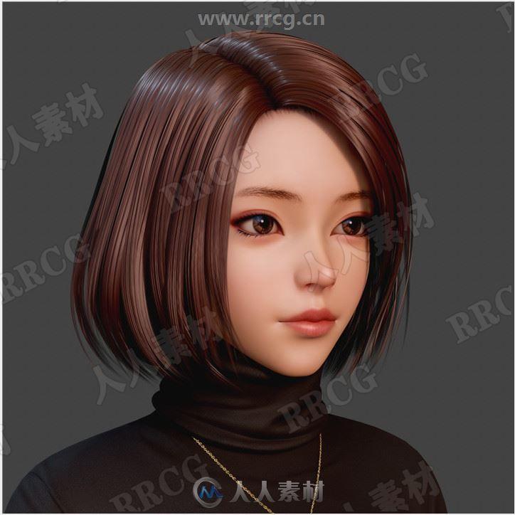 《火焰之纹章》渲染图女性角色3D原画集