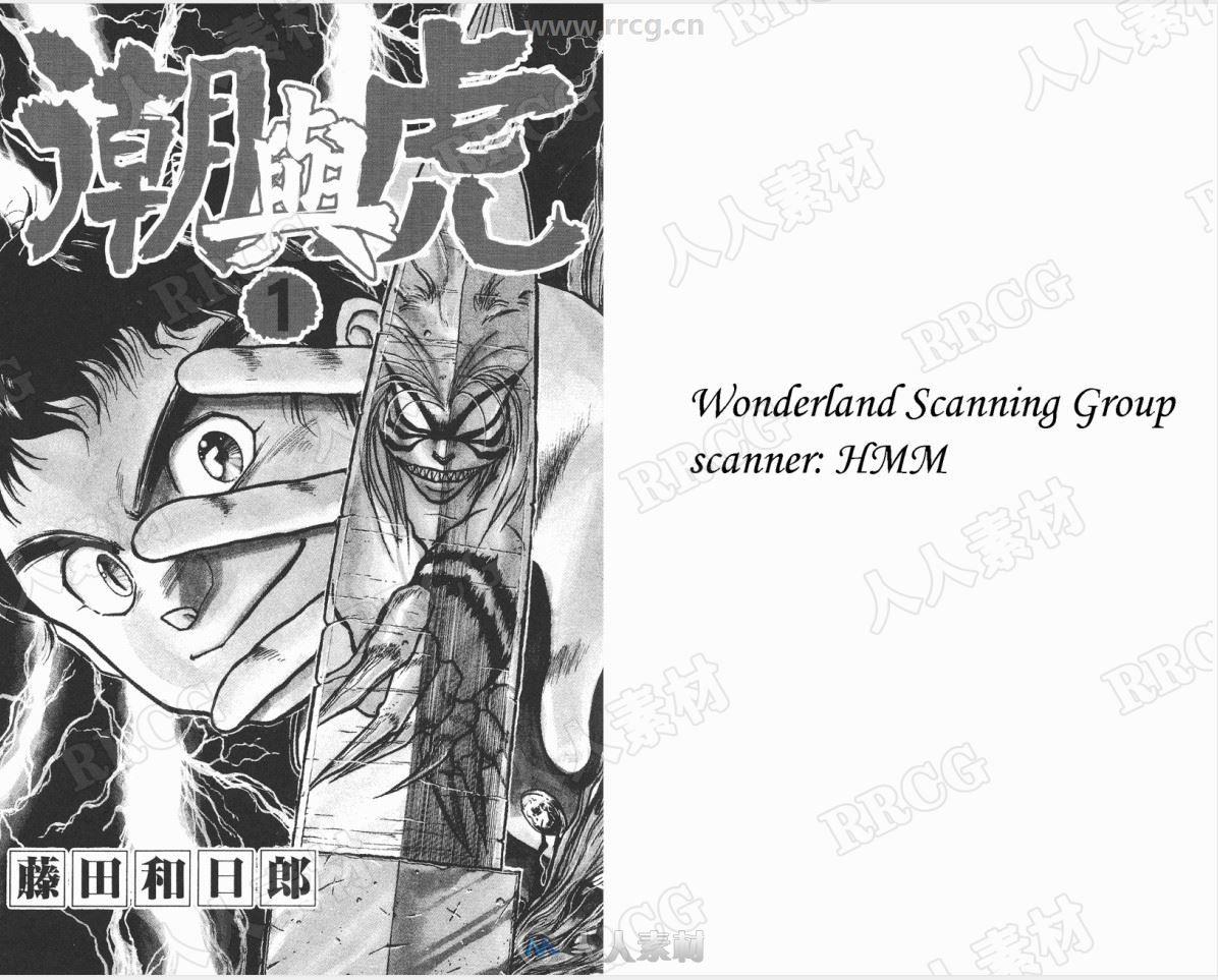 日本漫画家藤田和日郎《潮与虎》漫画画册全卷