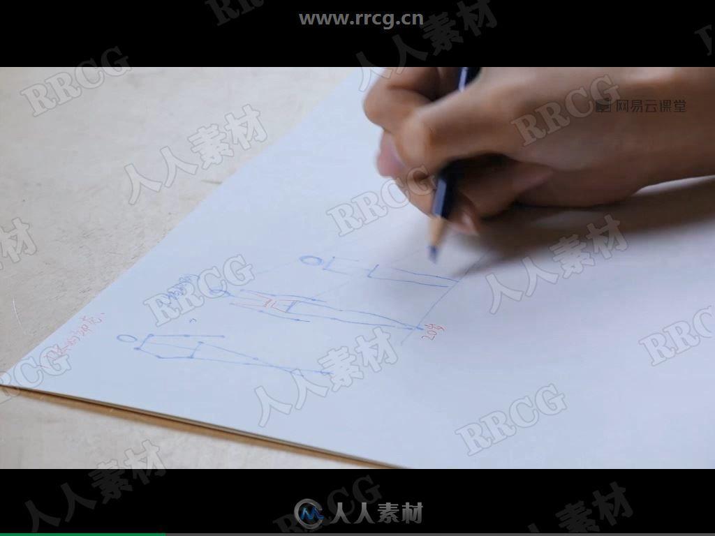 87个手绘人体结构传统绘画视频教程