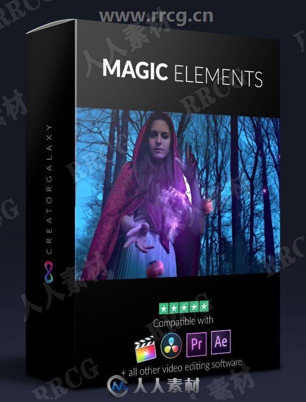 34组史诗级神奇魔法元素4K高清视频素材合集
