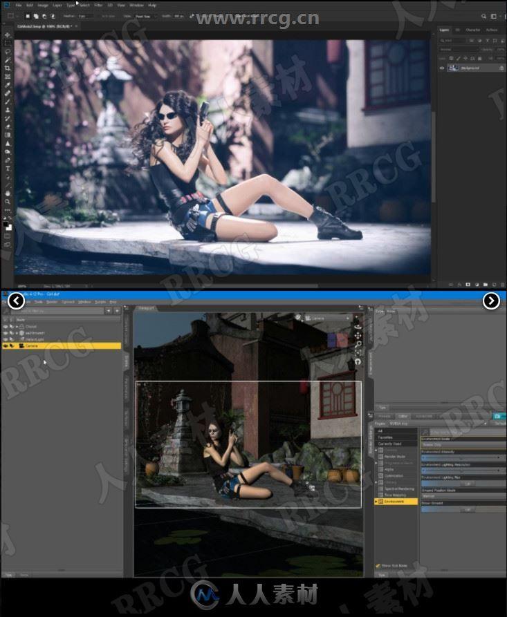 3 Point X 专业灯光照明系统视频教程3D模型合集