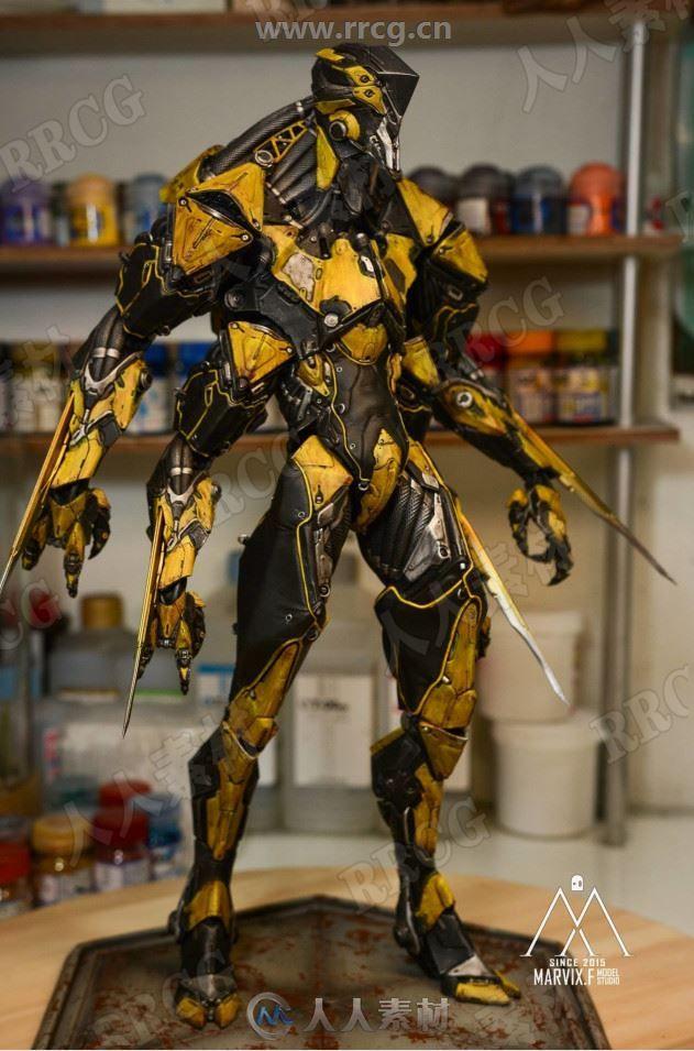 加拿大三维概念画师Marco Plouffe科幻机械怪物角色3D画集