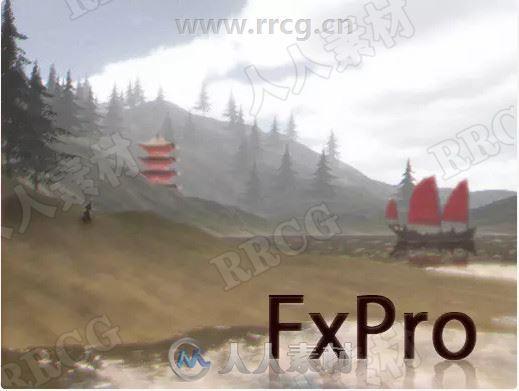 全屏镜头视觉效果Unity游戏素材资源