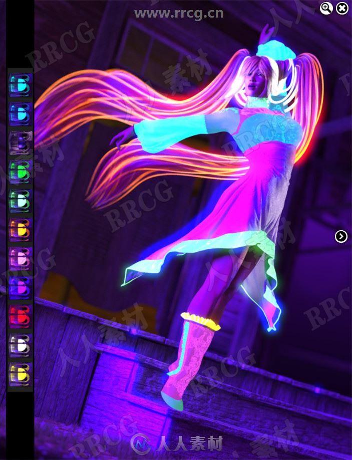 紫外线道具灯光渲染3D模型合集