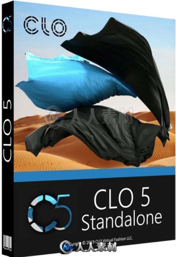 CLO Standalone服装设计模拟软件V5.2.382.30312版