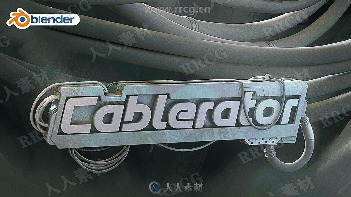 Cablerator电缆电线快速创建Blender插件V1.2.0版