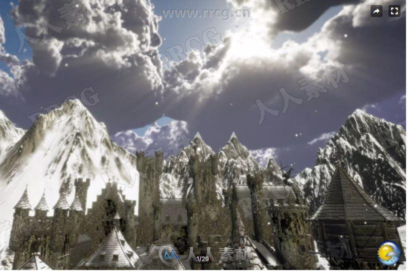 天气系统粒子效果Unity游戏素材资源
