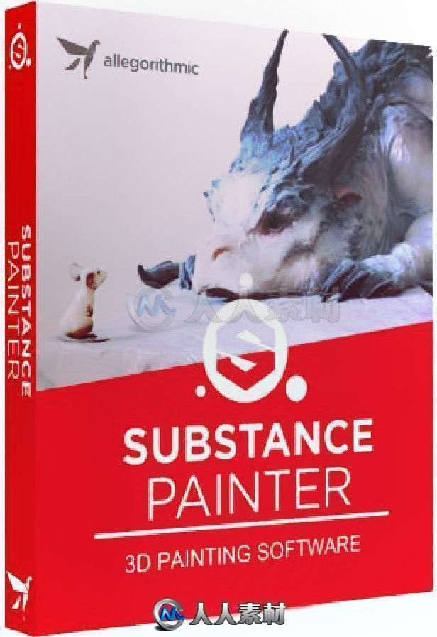 Substance Painter三维纹理材质绘画软件V6.2.2.661版
