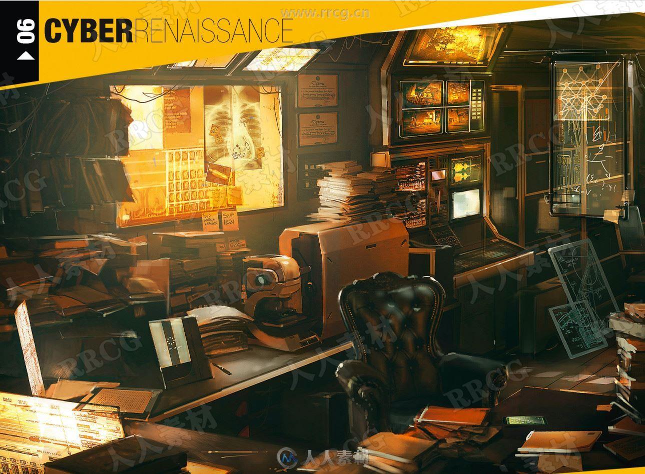 《杀出重围DXU》人物道具游戏官方设定画集
