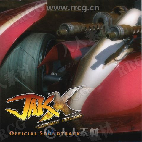 战斗赛车游戏配乐原声大碟OST音乐素材合集