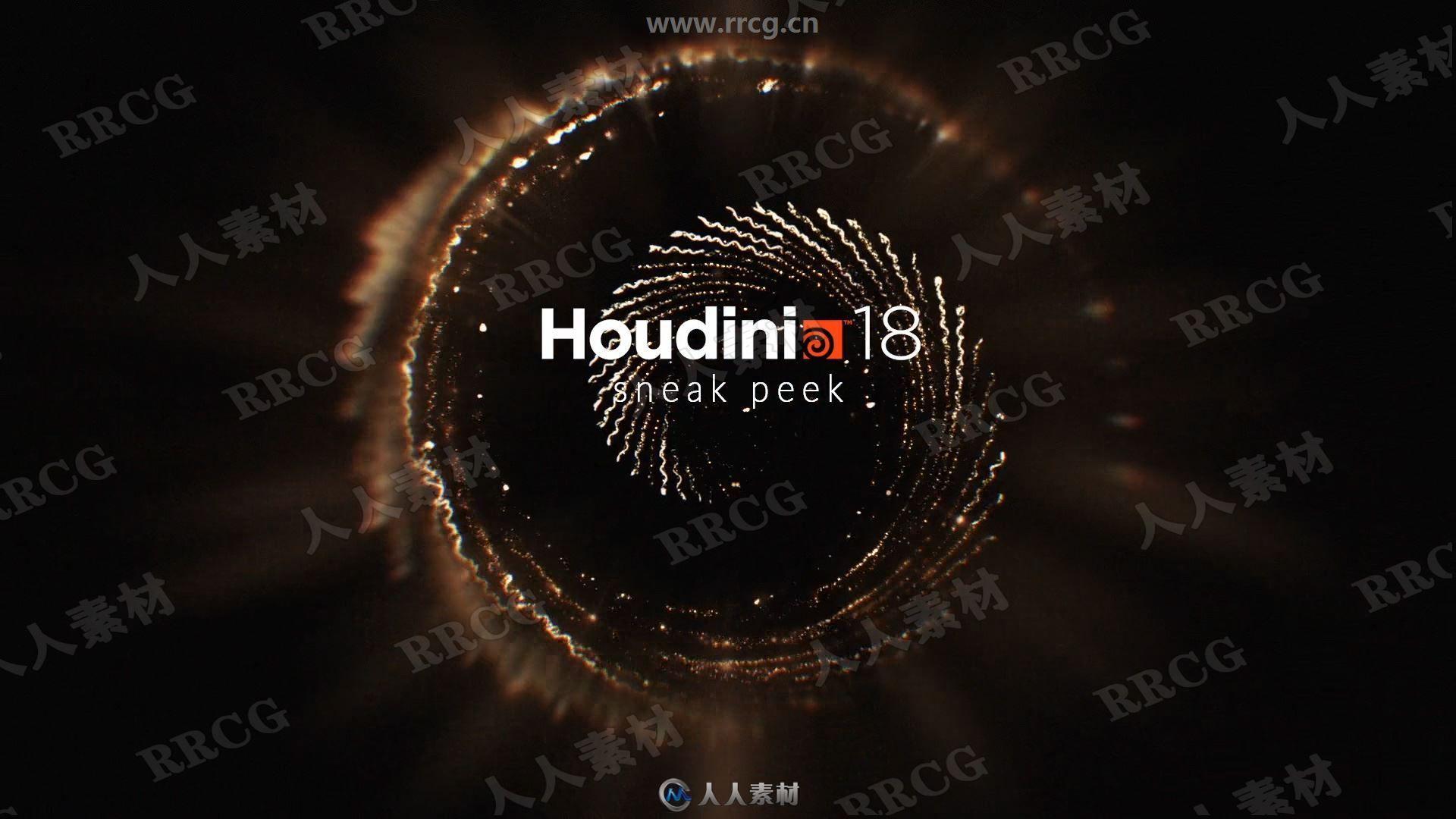 SideFX Houdini FX影视特效制作软件V18.5.499版