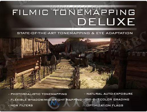 电影色调全屏镜头视觉特效Unity游戏素材资源