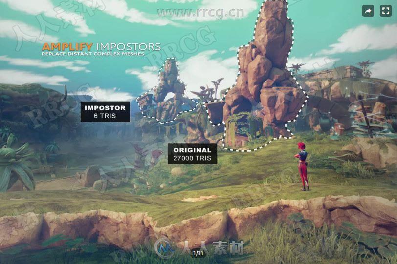 放大着色编辑器实用工具Unity游戏素材资源
