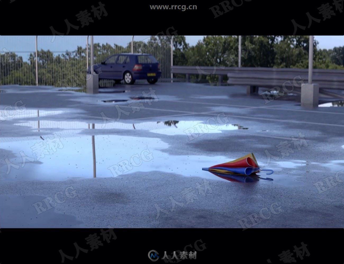 地表水上水元素场景3D模型合集