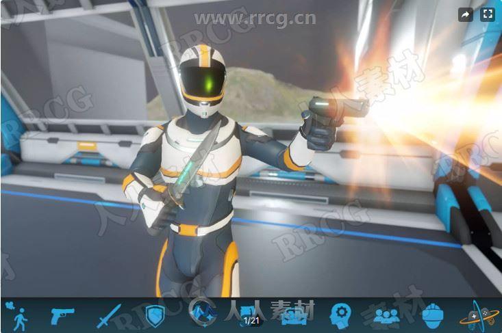 第三人称控制器系统模板Unity游戏素材资源