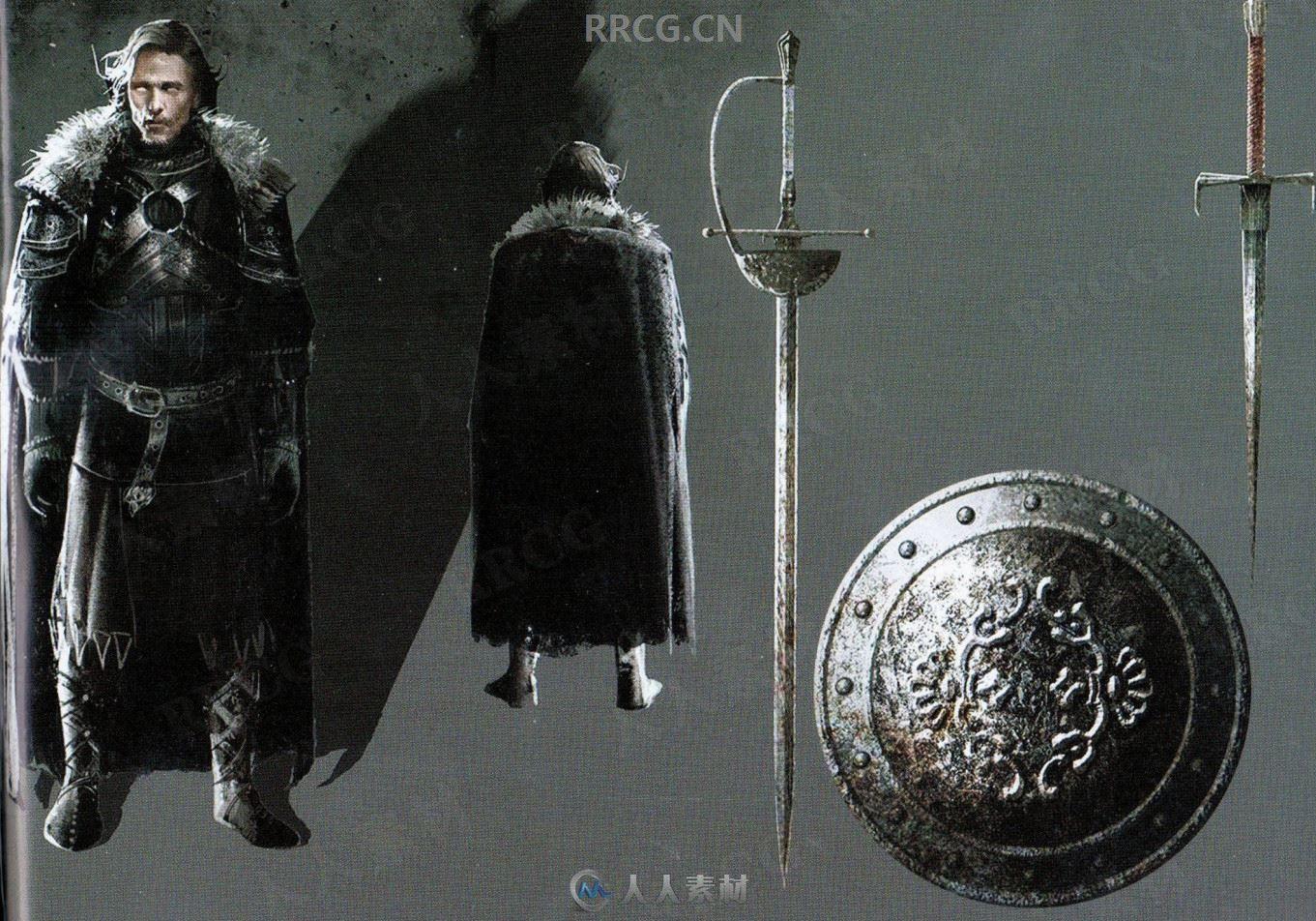 西方中世纪《暗黑之魂2》游戏官方设定画集