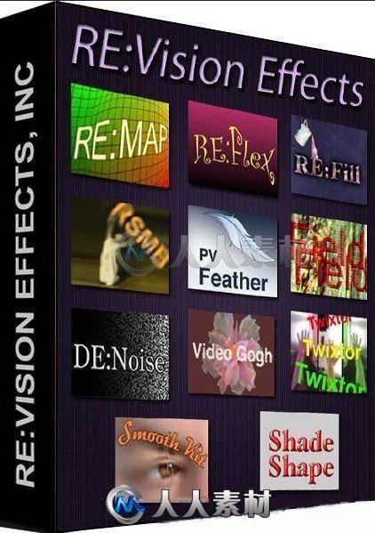 ReVisionFX视频特效AE插件合辑V21.0.1版