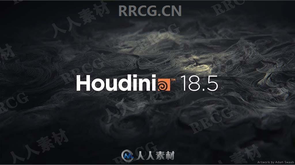 SideFX Houdini FX影视特效制作软件V18.5.408版