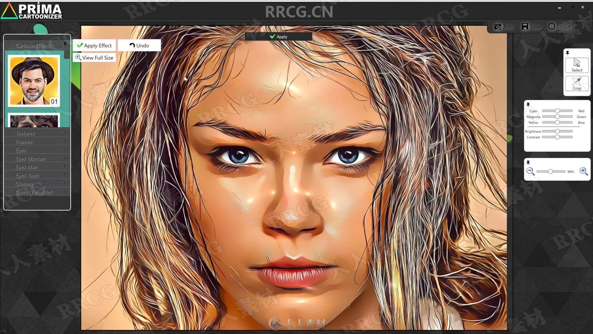 Prima Cartoonizer照片卡通艺术特效软件V3.1.8版