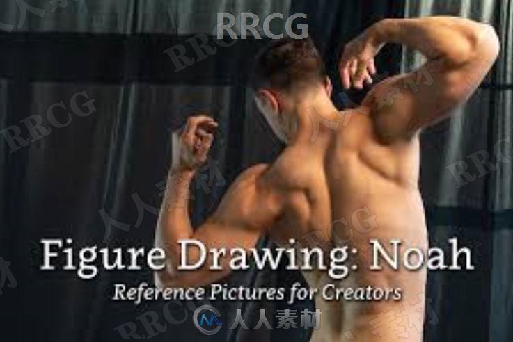 774组男性肌肉健美模特姿势解剖高清参考图片合集