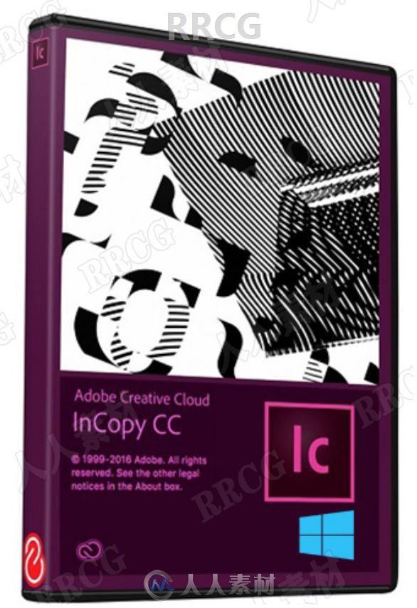 Adobe InCopy 2021协作编辑工具软件V16.1.0.020版