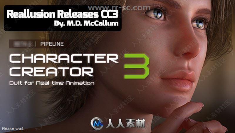 Reallusion Character Creator三维角色模型设计软件V3.32.3312.1