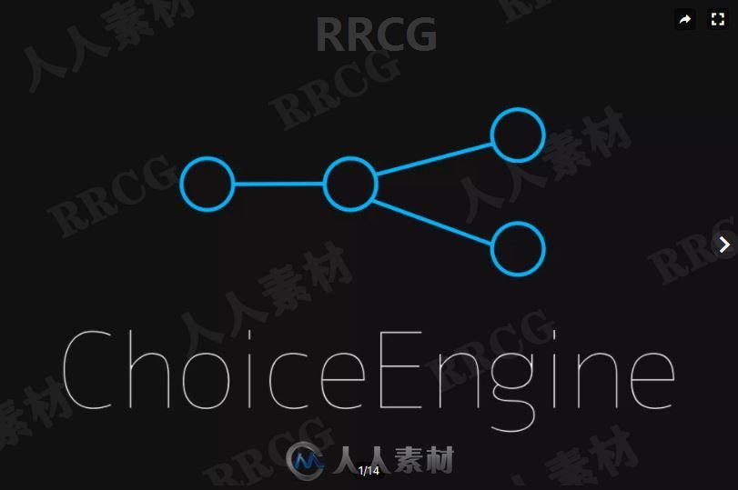 视觉小说和文字游戏引擎工具Unity游戏素材资源