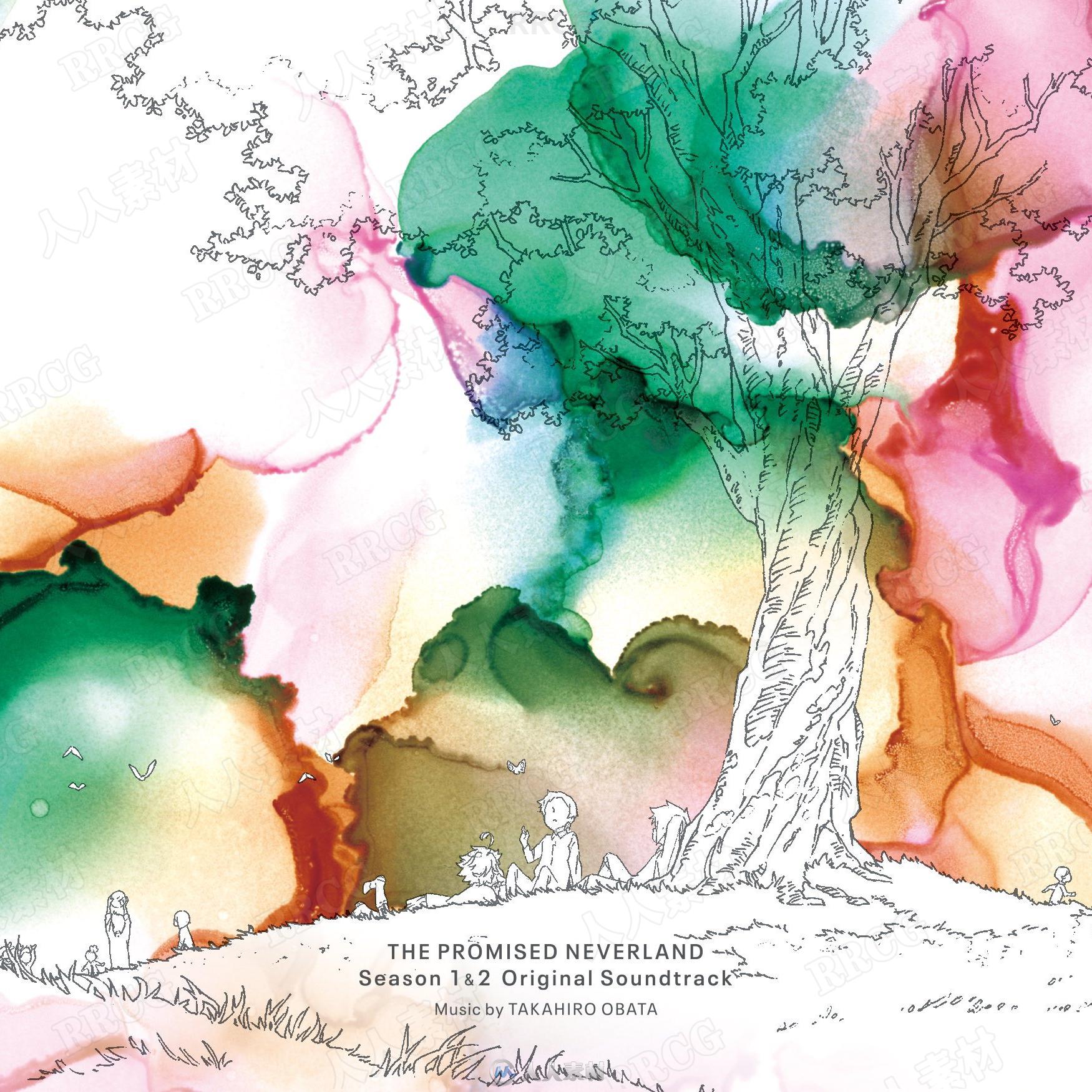 约定的梦幻岛1&2动画配乐原声大碟OST音乐素材合集