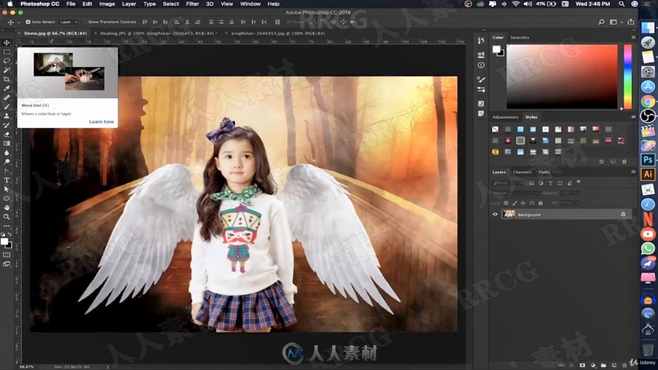 PS初学者编辑照片后期图像修饰技巧视频教程