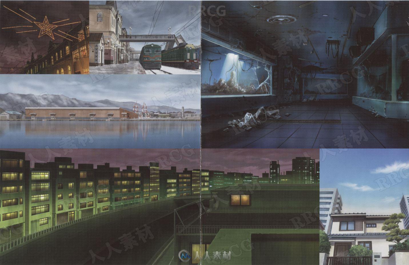 《黑之契约者》动画官方设定线稿画集
