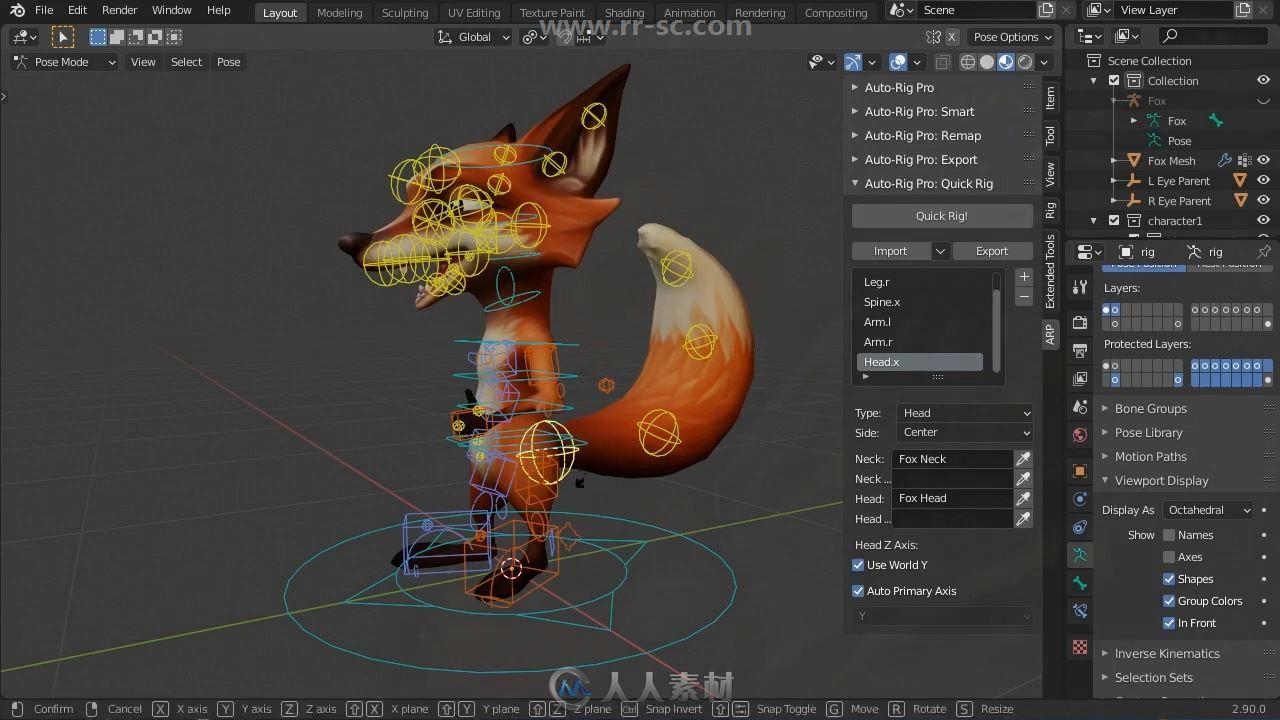 Auto-Rig Pro Blender插件扩展Quick Rig V1.23版
