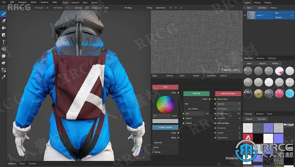 ArmorPaint纹理贴图绘制软件V0.7版