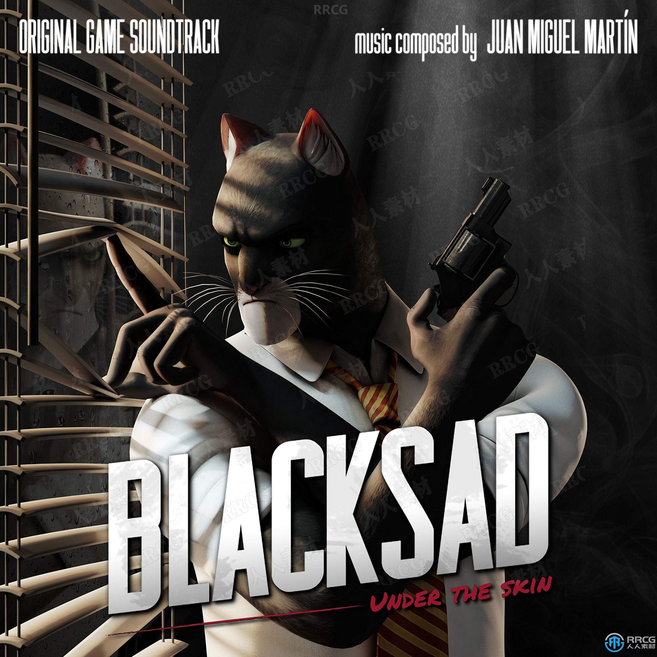 黑猫侦探:深入本质游戏配乐原声大碟OST音乐素材合集