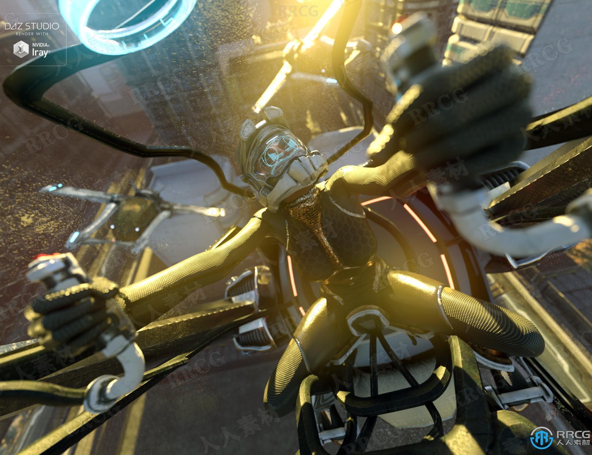美丽奇特科幻多功能战斗机飞机3D模型合集