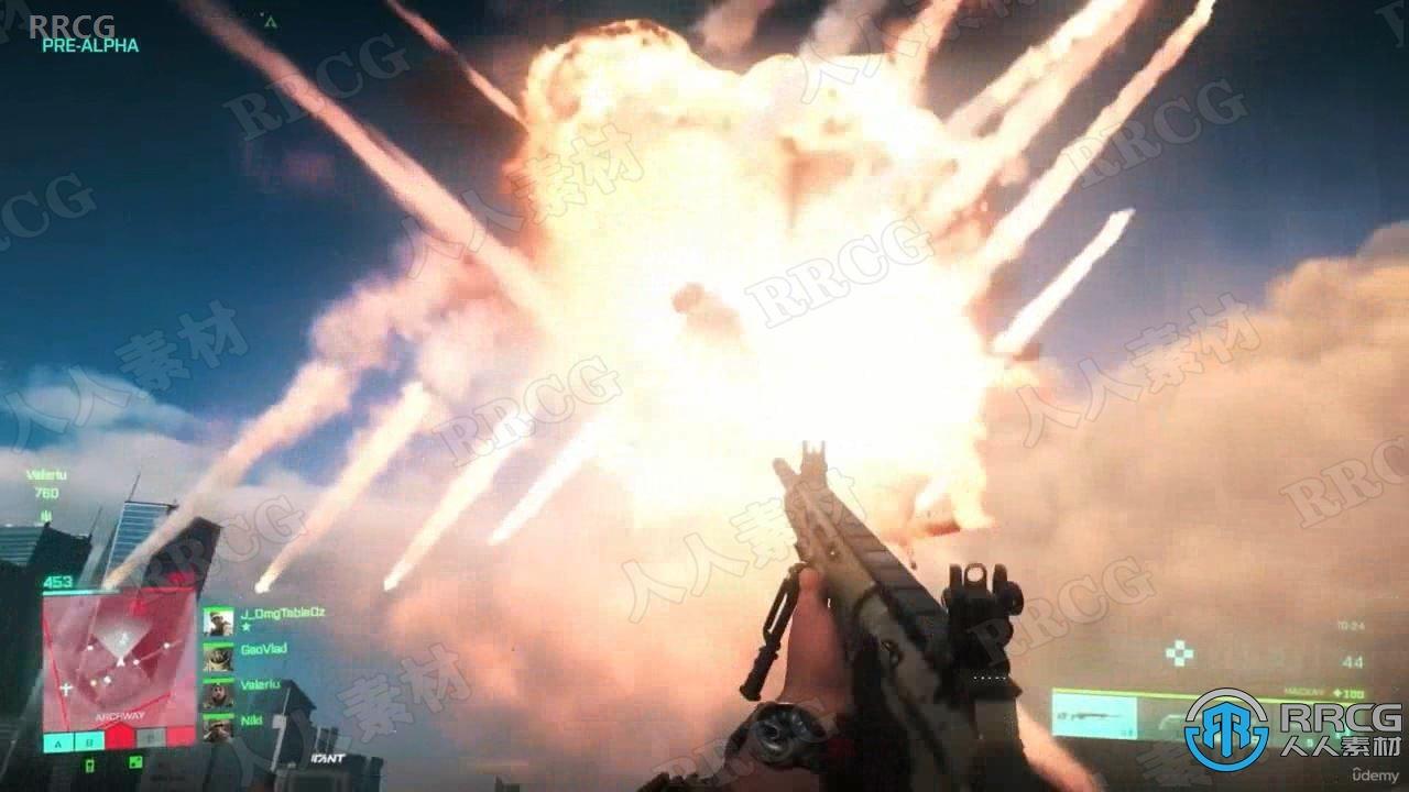 【中文字幕】Unreal Engine第一人称射击游戏完整制作流程视频教程