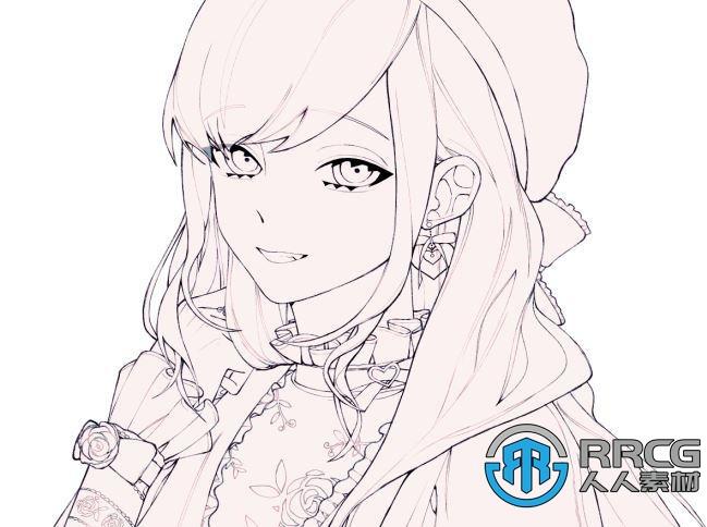 【中文字幕】动漫人物角色插画数字绘画完全指南视频教程