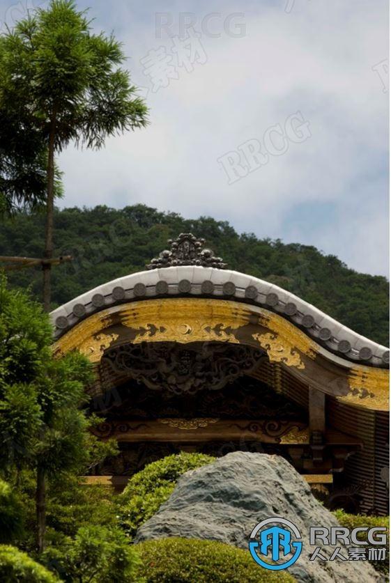 日本佛教无量寿寺木雕刻高清参考图合集