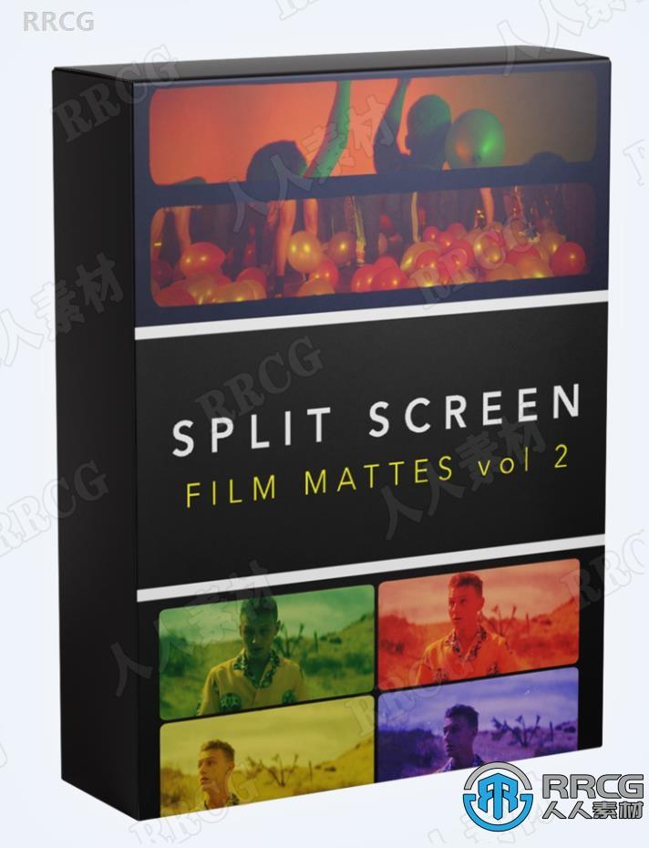 80组影视分屏画面切割胶片特效8K高清平面素材合集