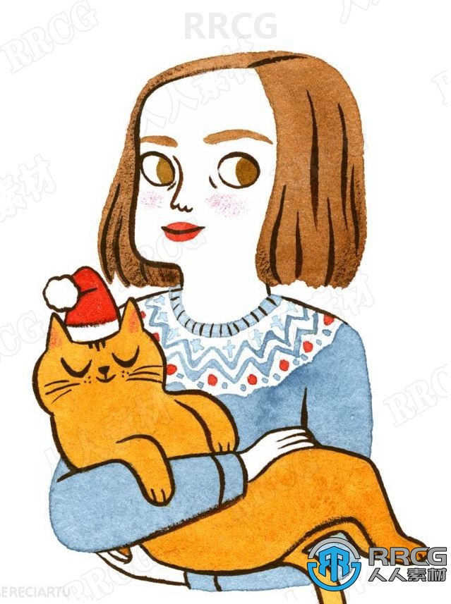 画师Juliabe概念卡通可爱平面角色场景原画插画集