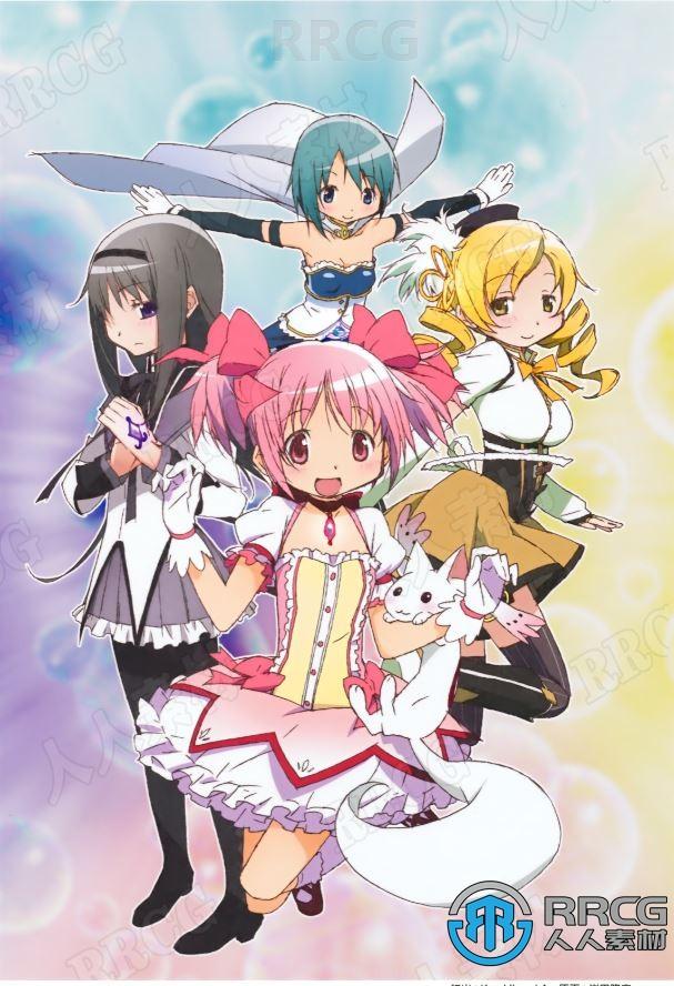 《魔法少女小圆》4册动画角色官方设定画集